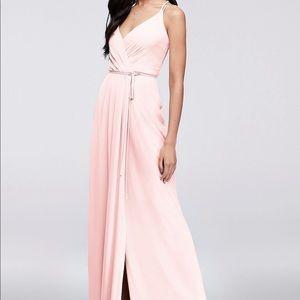 David's Bridal Georgette Dress